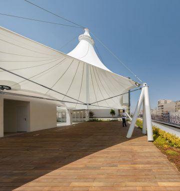 Roof Garden in Kayson Company